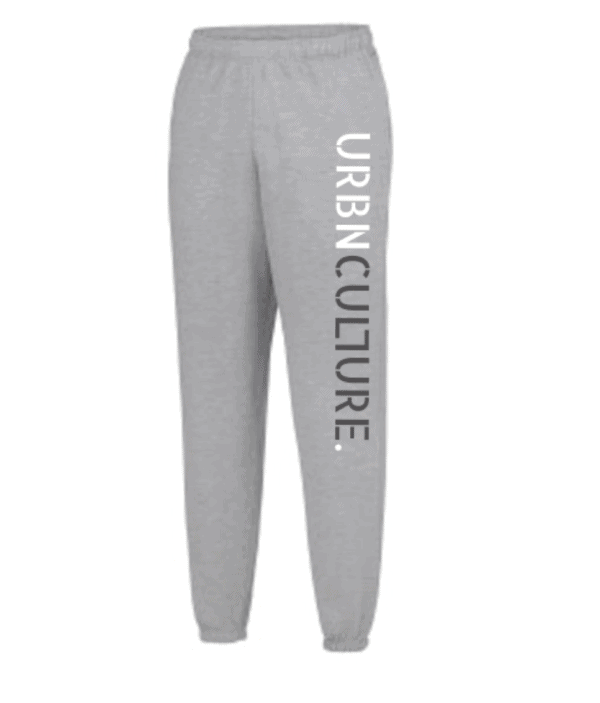 Grey joggers with UrbnCulture logo